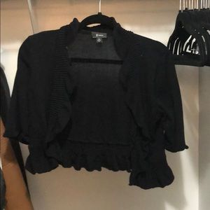 Sweaters - Black shrug sweater size juniors xl
